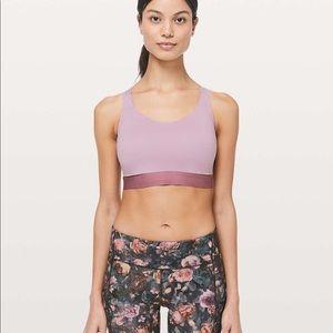 Lululemon Fine Form Bra Rose Blush Size 34D